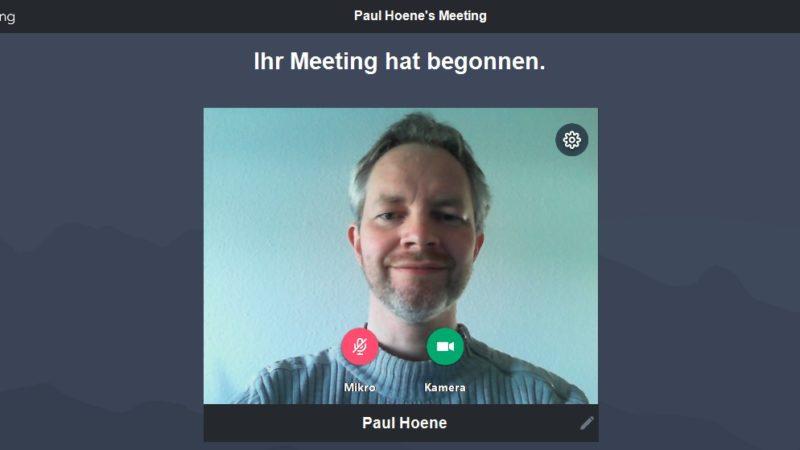 WBV-Bürgermeisterkandidat Paul Hoene jetzt mit wöchentlicher Sprechstunde