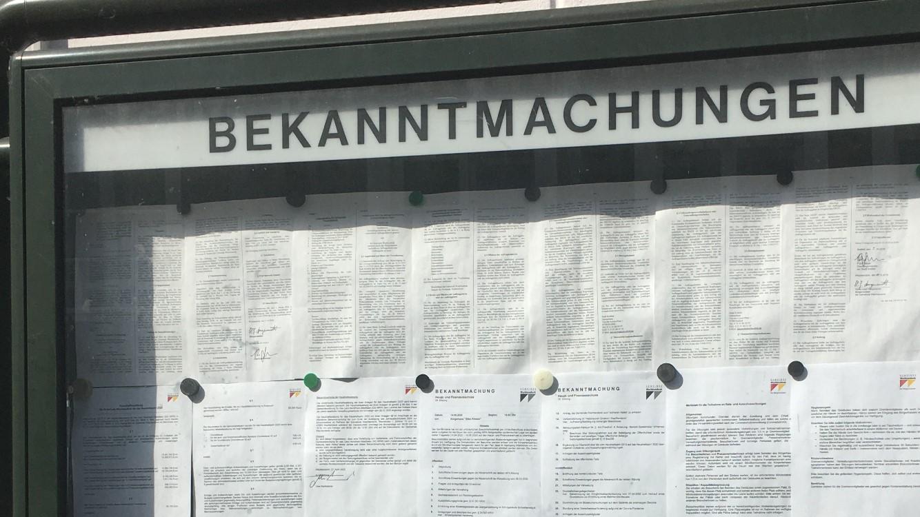 Kommunikation Gemeinde Wachtendonk
